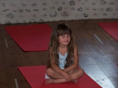 Yoga enfants 19 juin 2007